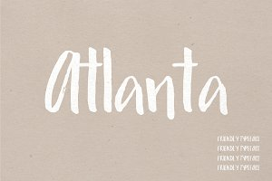Atlanta |  Friendly Typeface