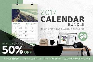 50% Off - Calendar Bundle - 2017