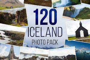 120 Iceland Photo Pack