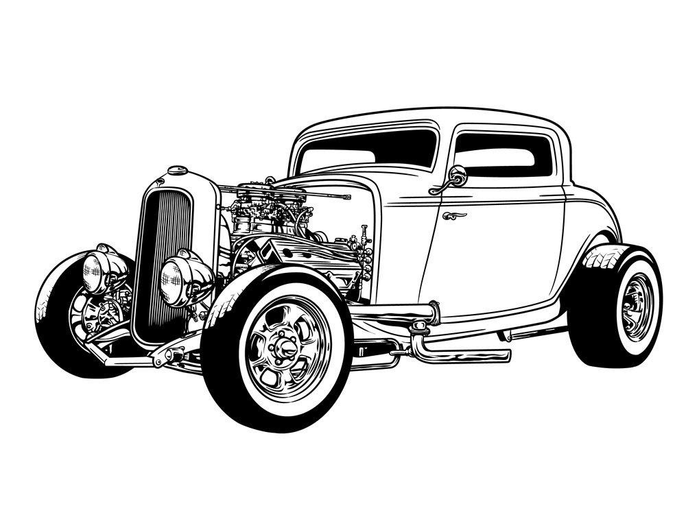 Hot Rod 6 ~ Graphics ~ Creative Market