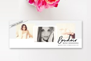 Boudoir Facebook Cover Template