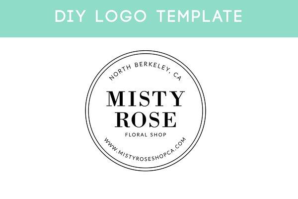 Minimal Stamp Logo Template