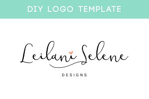 Signature Logo DIY Template