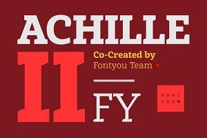 Achille II FY Black Italic