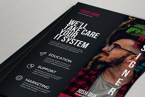 Graphic Designer Freelance Flyer