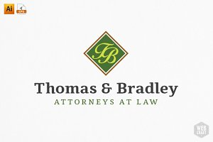 Real Estate / Attorney Logo Template