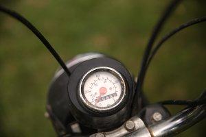 Vintage motorbike speedometer 2
