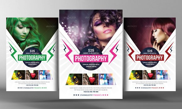 Photography Flyer Instant Download Photography Flyer Design Mini