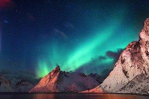 A beautiful aurora