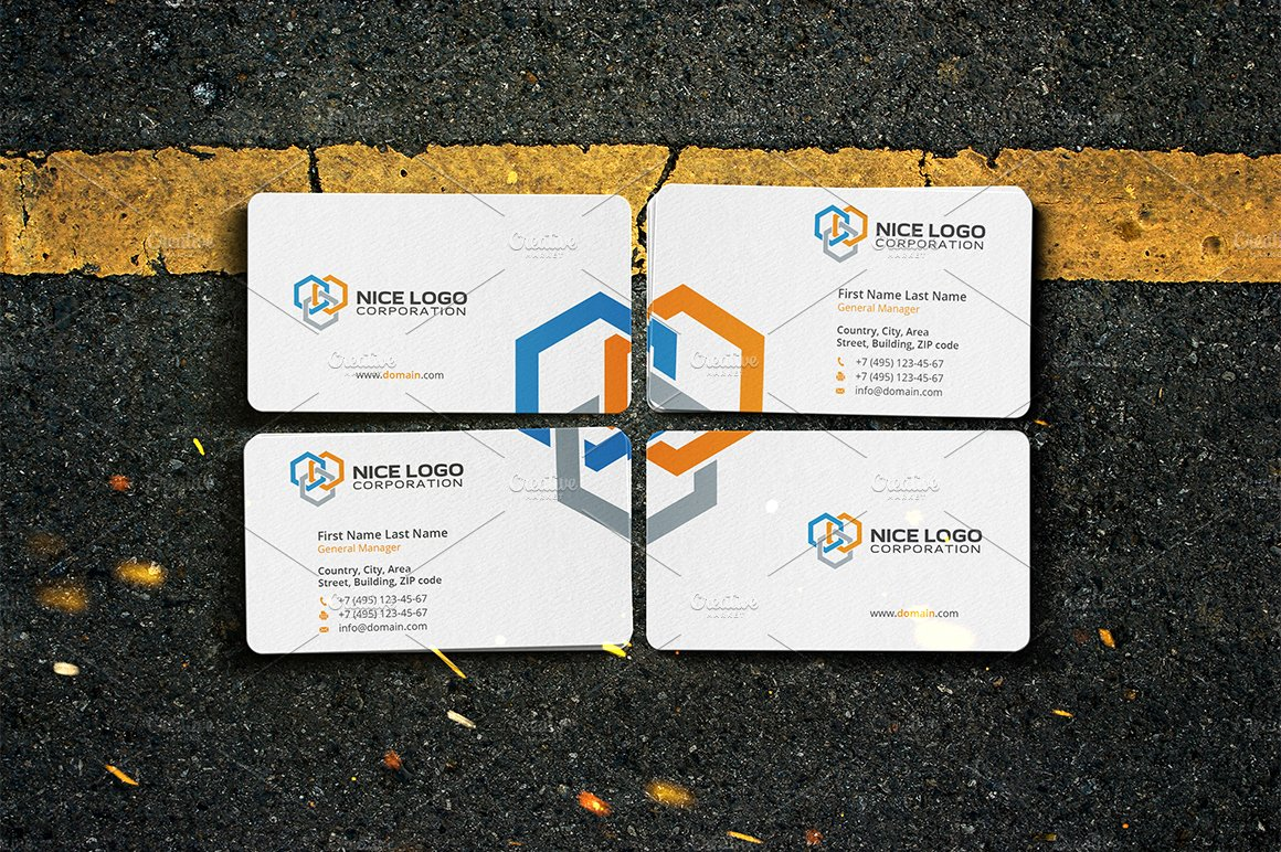 business card construction industry ~ Business Card Templates ...