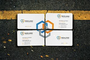 business card construction industry