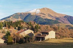 Taga Peak in the Pyrenees Mountains