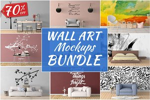 Wall Art Mockups BUNDLE V21
