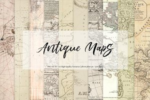 Antique Maps - Set 01