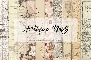 Antique Maps - Set 02