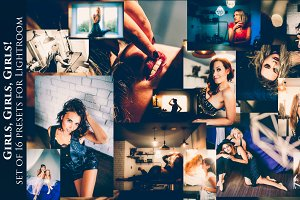 Presets for stylish Portraits