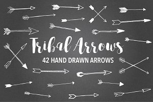 Tribal Arrows // Hand drawn