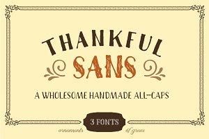 Thankful Sans