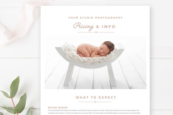 Photographer Email Template ~ Email Templates ~ Creative Market