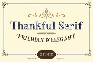 Thankful Serif
