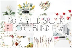 130 Styled Stock Photo Bundle #1
