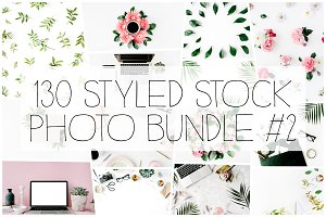 130 Styled Stock Photo Bundle #2