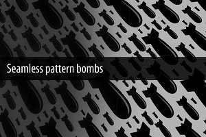 Seamless pattern bombs