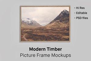 4 Picture Frame Mockups