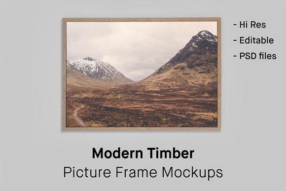 Download 4 Picture Frame Mockups