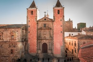 Church of San Francisco.Caceres