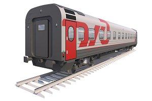 Coach Passenger Wagon Train