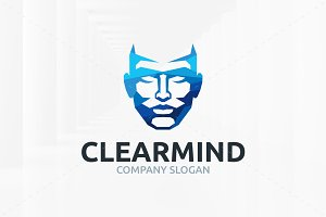 Clear Mind Logo Template