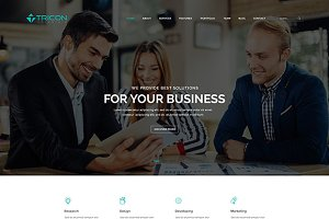 Tricon – Multipurpose HTML Template