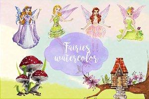 Fairies Clipart Images