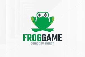 Frog Game Logo Template
