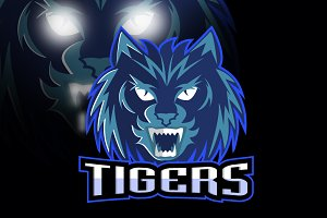 Tigers logo sport team