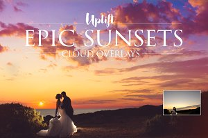 Epic Sunsets Cloud Overlays