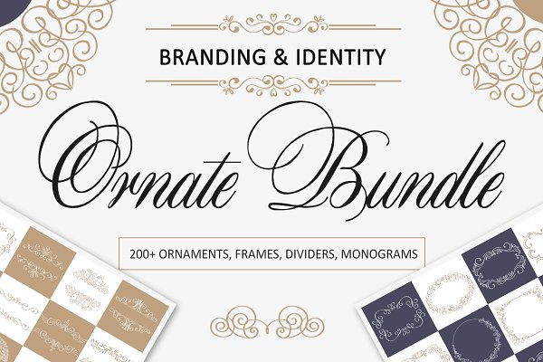 -30%Ornate Bundle. Branding identit…