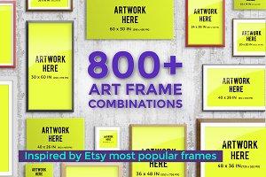 Pro Mockup - Art Frame Creator