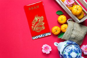 Accessories Chinese new year.