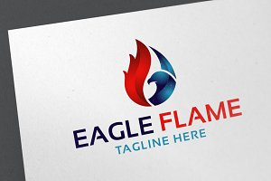 Eagle Flame Logo