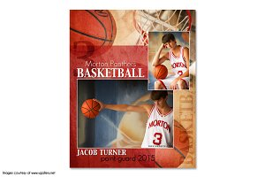 Basketball Memory Mate Template -MM2