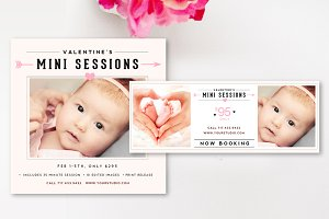 Mini Session Template Bundle