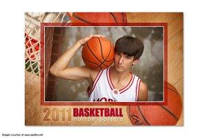 Basketball Memory Mate Template - T1