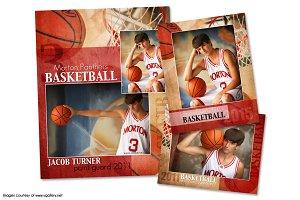 Basketball Memory Mate Template-PB