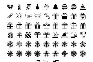 Christmas Solid Icons