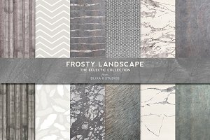Frosty Silver Foil & Watercolors