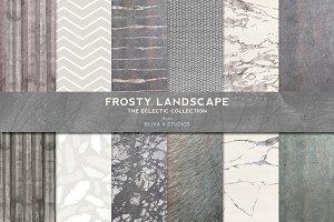 Frosty Silver Foil & Watercolors