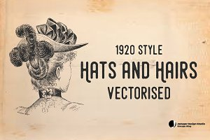 Vintage-Hats & Hairs