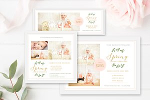 Spring Mini Session Bundle